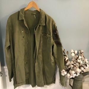 Free People bomber coat